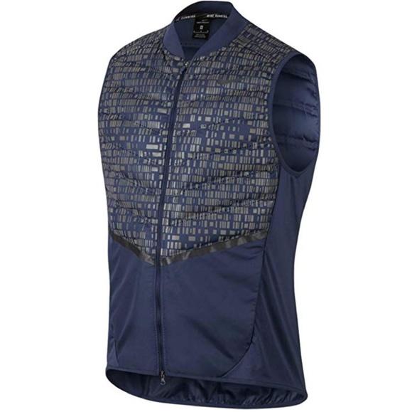new style aff59 0232d Nike AeroLoft 800 Flash Running Vest Mens Med NWT